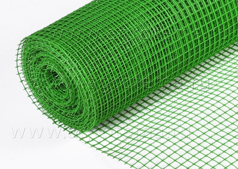 Сетка РАБИЦА покрытая полимером (зеленым) ПВХ в рулоне