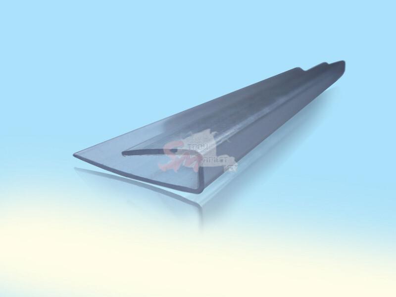 Профиль торцевой (6 мм) 2.1 м.