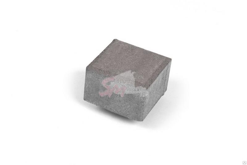 Квадрат малый гладкий h60 (на белом цементе)