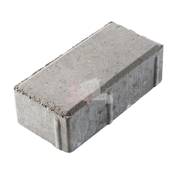 Брусчатка фактурная h80 (на сером цементе)