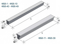 ФБ длиной от 5,95 м. до 4.75 м.