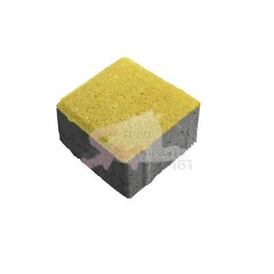 Квадрат малый фактурный h60 (на сером цементе)