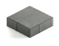 Квадрат большой гладкий h60 (на сером цементе)