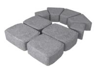 """Плитка тротуарная гладкая """"Классико"""" h60 (на сером цементе)"""
