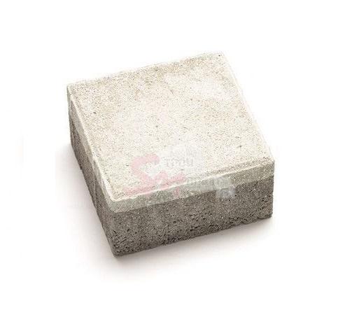 Квадрат средний фактурный h60 (на белом цементе)
