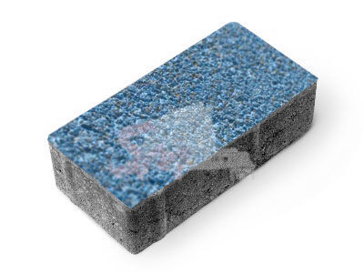 Брусчатка фактурная h60 (на сером цементе)