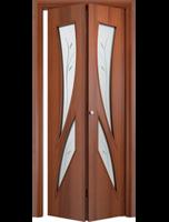 """Дверь складная """"Стрелиция"""" Ламинат (ДОФ-5)"""