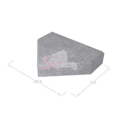 Шапка Епископа гладкая h60 (на сером цементе)