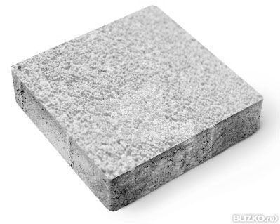 Квадрат средний фактурный h40 (на сером цементе)