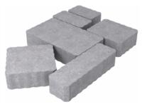 """Плитка тротуарная гладкая """"Тракт"""" h60 (на сером цементе)"""