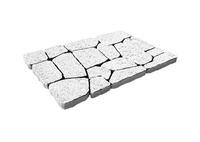 """Плитка тротуарная гладкая """"Арена"""" h60 (на белом цементе)"""