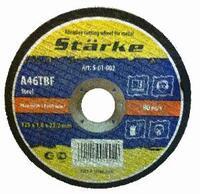 "Круг отрезной ""STARKE"" 125х1.6х22.2 мет"
