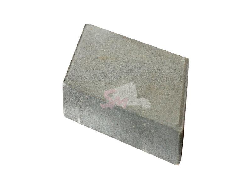 Ромб гладкий h60 (на сером цементе)
