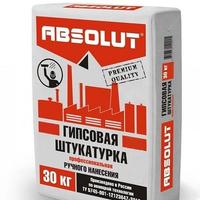 "Штукатурка гипсовая Absolut ""PROfessional"" (Р/Н) 30 кг"