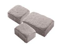 """Плитка тротуарная гладкая """"Аурико"""" h60 (на белом цементе)"""