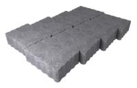 """Плитка тротуарная гладкая """"Беганит"""" h60 (на сером цементе)"""