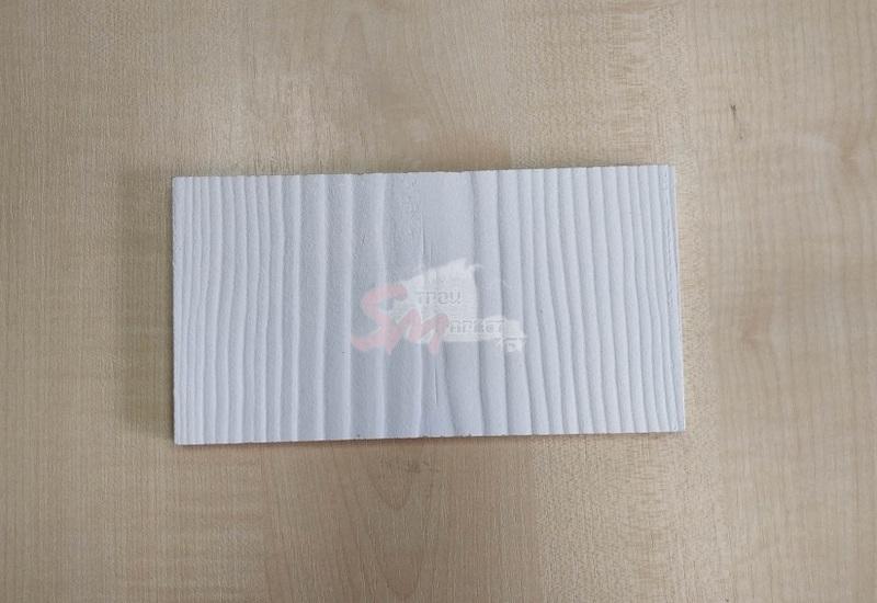 Сайдинг фиброцементный CEDRAL С01 (Белый минерал)