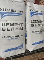 "Цемент белый ""Nivelir"" 25 кг."