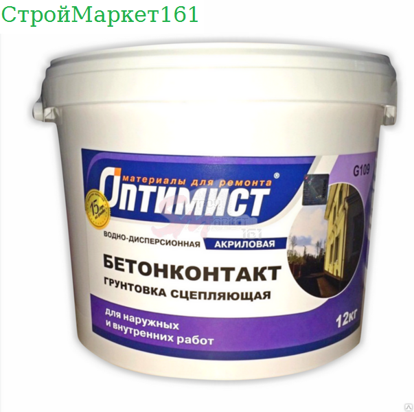 Бетоноконтакт Оптимист G109 12 кг.