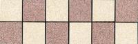 Бордюр наборный Техногрес 300х98 (Светло розовый-розовый)
