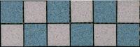 Бордюр наборный Техногрес 300х98 (Светло серый-голубой)