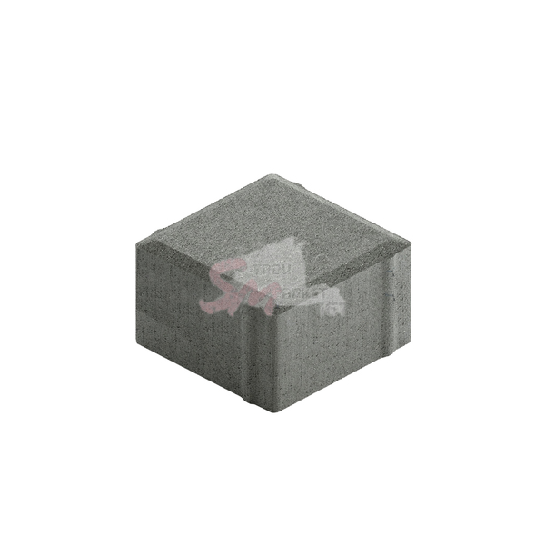 Квадрат малый гладкий h60 (на сером цементе)