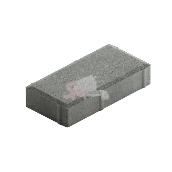 Брусчатка однослойная h40 (на сером цементе)