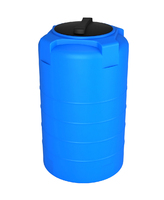 Емкость VERT синяя 530х1050 (люк 350 мм) 200 л
