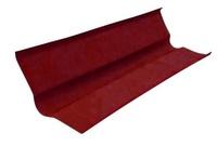 Ендова для Ондулина красная 1000х360 мм.