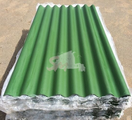 7-ми волн. зеленый 1750х980х5,2 мм  ТУ