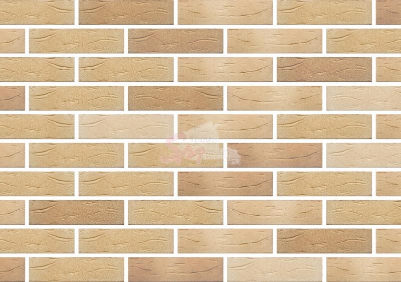 Кирпич керамический лицевой одинарный Флоренция-Руст (утолщенная стенка) м-150