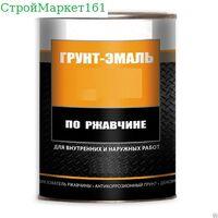 """Гр-эмаль по рж """"Ростов"""" серый 0.9 кг."""