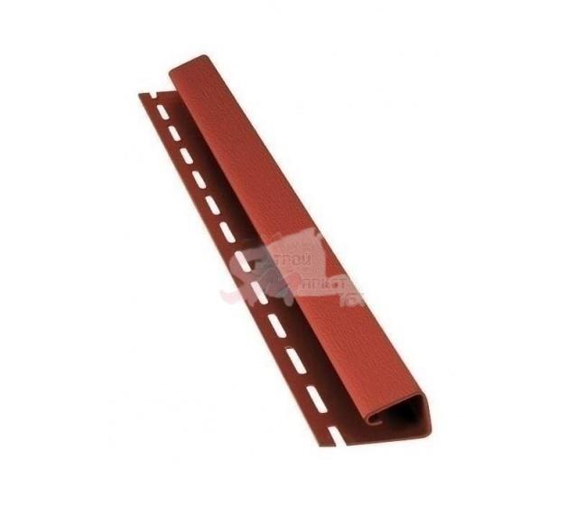 J - профиль 4000х45 мм. (красный).
