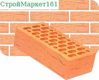 Кирпич керамический лицевой одинарный Беж-Руст (утолщенная стенка) м-150