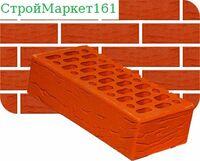 Кирпич керамический лицевой одинарный Классик-Руст (утолщенная стенка) м-150
