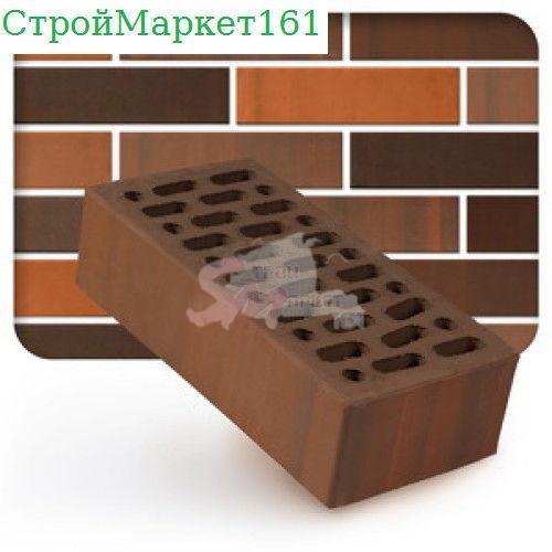 Кирпич керамический лицевой одинарный Мокко-BUNT (утолщенная стенка) м-150