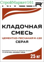 """Кладочная смесь """"NIVELIR M-150"""" (Пескобетон) 25 кг."""