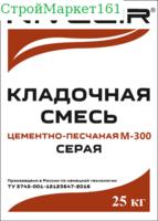 """Кладочная смесь """"NIVELIR M-300"""" (Пескобетон) 25 кг."""