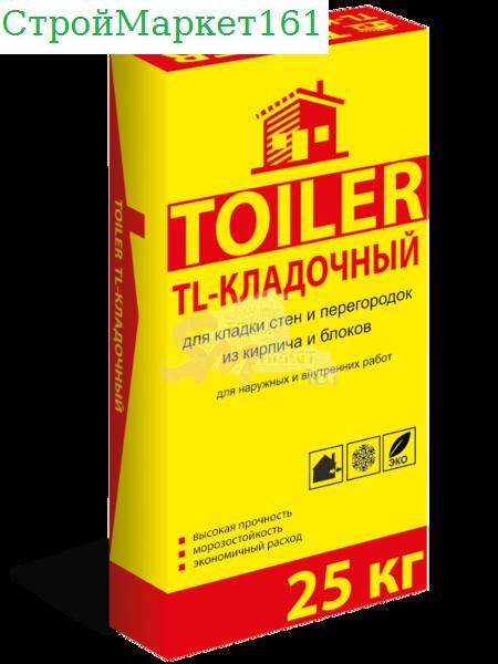 """Кладочная смесь Toiler """"TL-Кладочный"""" 25 кг."""