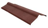 Конек для Ондулина коричневый 1000х360 мм.