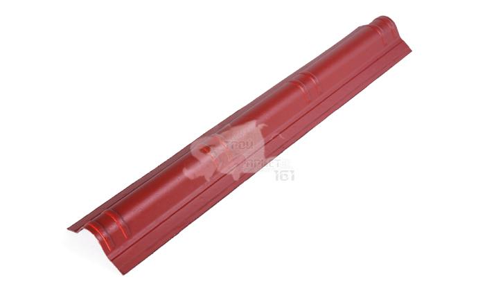 Конек для Ондувиллы красный 1060х180 мм.