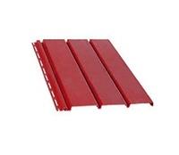 Панель софит 4000х305 мм. (красный).