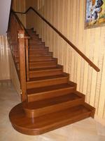 Лестница №4 (Обшивка бетонного марша, дуб)