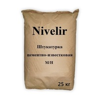 "Штукатурка цементно-известковая Nivelir ""Ultra"" (М/Н) 25 кг."