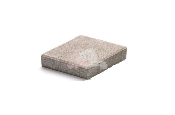 Ромб гладкий h60 (на белом цементе)