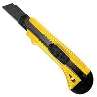 Нож с лезвием с метал. ведомой, ручная фиксация 18 мм