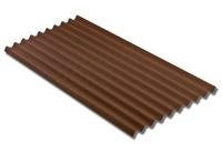 Ондулин SMART коричневый 1950х960 мм.