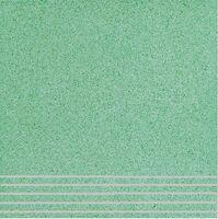 Плитка керамогранит Техногрес 300х300 (Светло-зеленый) ступени/рельеф