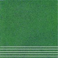 Плитка керамогранит Техногрес 300х300 (Зеленый) ступени/рельеф