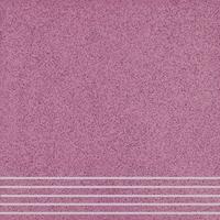 Плитка керамогранит Техногрес 400х400 (Розовый) ступени/рельеф